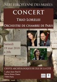 Trio Lorelei de l'Orchestre de Chambre de Paris