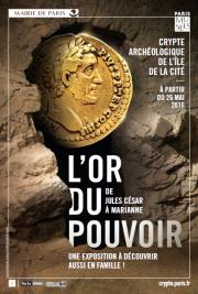 Découverte de la Crypte et de l'exposition L'Or du Pouvoir