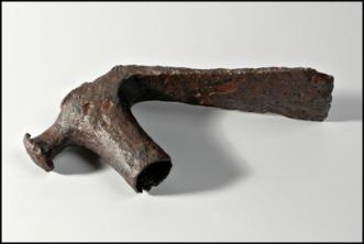 Herminette antique