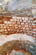 Mur du four à chaux du collège Sainte-Barbe