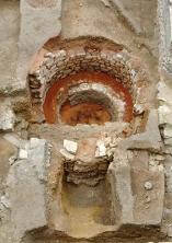 Mur du fond à chaux du collège Sainte-Barbe