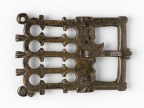 Boucle de ceinture, musée Carnavalet, Paris