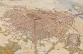 Lutèce depuis le sud-est, aquarelle de Jean-Claude Golvin, CNRS